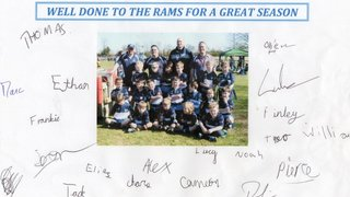 U8 Support the Rams