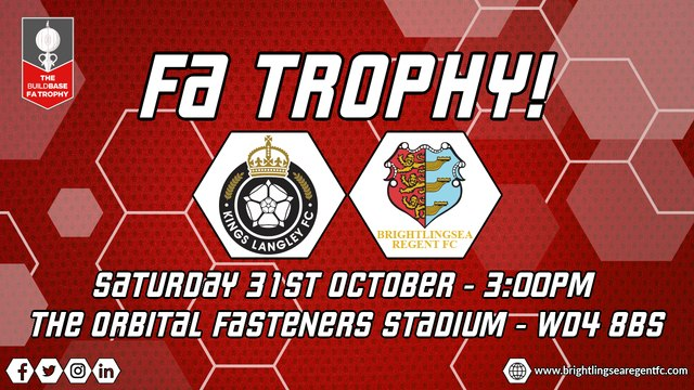 FA Trophy Information - Kings Langley