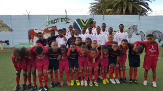Troon Thistle donated old strips to Project Playground in South Africa