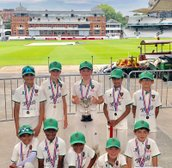 Ealing U10 boys victorious in the Gubby Allen Middlesex Cup Final at Lords