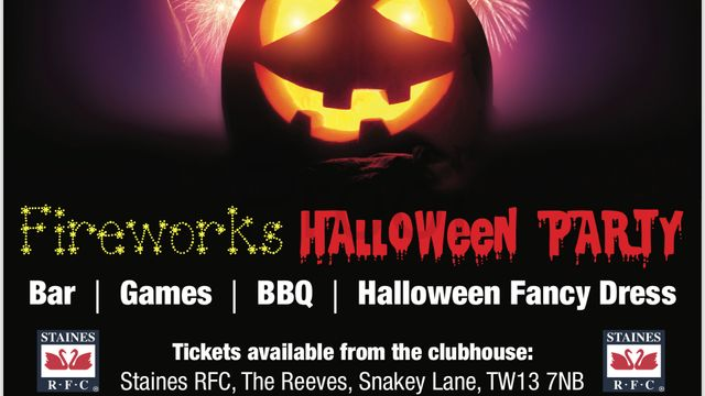 Fireworks & Halloween Party