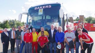 Coach to Hednesford on Tuesday