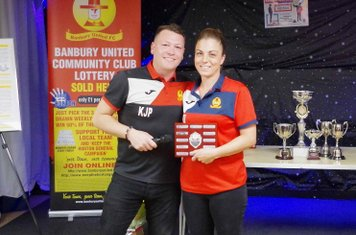 Sarah Rhind-O'Neil - First Players' Player