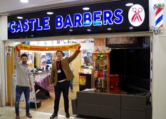 Castle Barbers - Sponsor offer to supporters