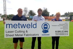 Metweld sponsoring the club