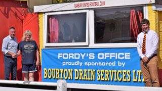 Bourton Drain Services continue to sponsor the club