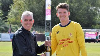 Jack Harding makes his 200th appearance for the Puritans