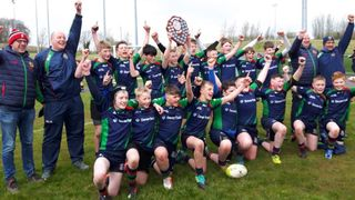 CV win in U14 Shield Final