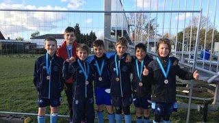 U12 Boys win Bronze in Surrey Plate