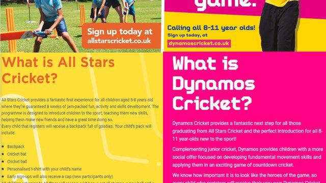 All Stars & Dynamos at Verwood Cricket Club