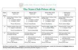 London Irish  N200 Club -  Don't miss out