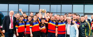 West Munster Stags hold onto the win.