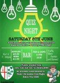 Quiz Night - U12s Dublin Tour Fundraiser  - Saturday, 8th June