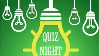 Quiz Night - U12s Dublin Tour Fundraiser
