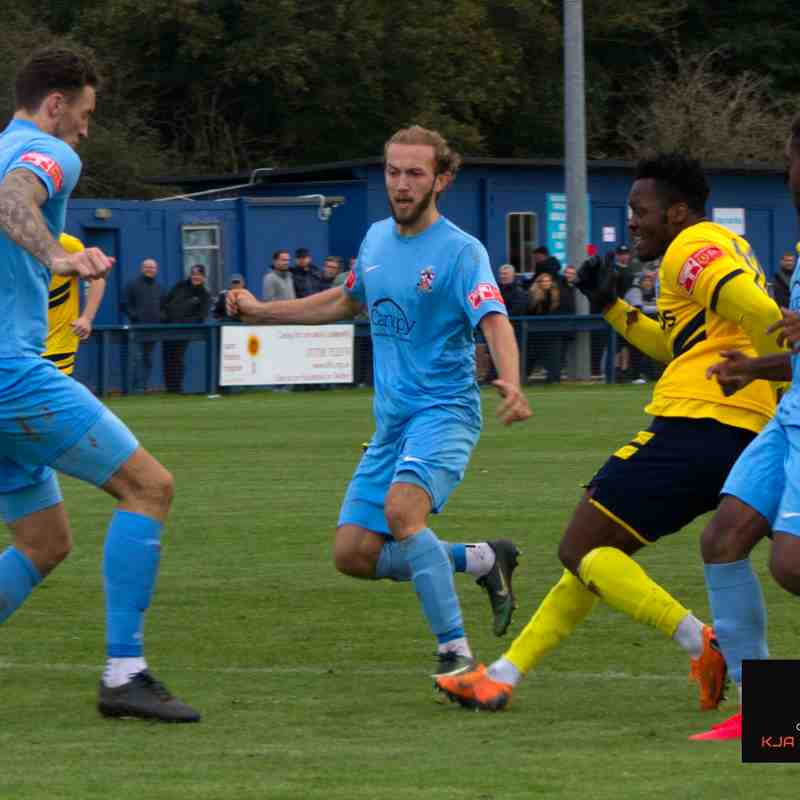 Brentwood Town FC Vs Canvey Island FC 10/10/2020