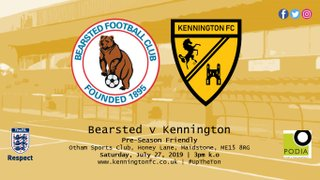 UP NEXT:  Bearsted (a), PSF - Sat, 3pm k.o