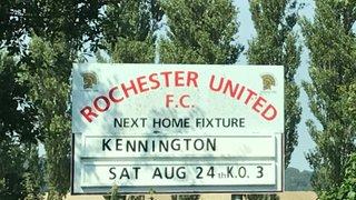 Rochester United 1 Kennington 5