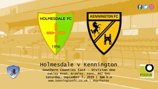UP NEXT: Holmesdale (a), SCEFL Division One
