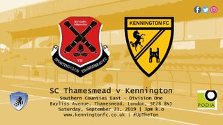 UP NEXT: SC Thamesmead (a), SCEFL Division One