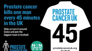 Ton Supporting Prostate Cancer UK