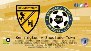 UP NEXT: Snodland Town (h), SCEFL Division One