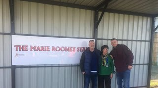 THE MARIE ROONEY STAND