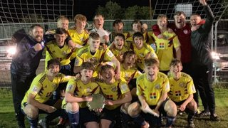DRAMTIC NIGHT AS UNDER 17/18s LIFT THE PLATE