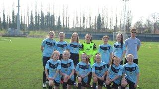 Under 13 Girls - County Champions