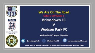Brimsdown FC V Wodson Park 1st