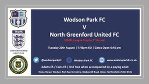 SSMFL Trophy  Wodson Park V North Greenford Utd