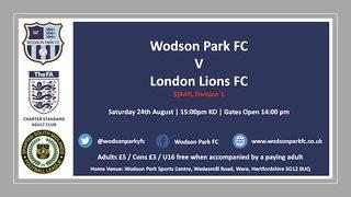 Wodson Park V London Lions