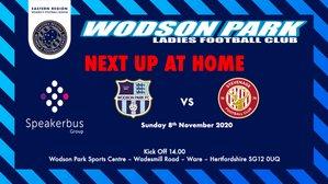 Wodson Park Ladies V Stevenage Women Dev