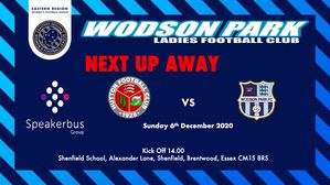 Next Fixture for the Ladies