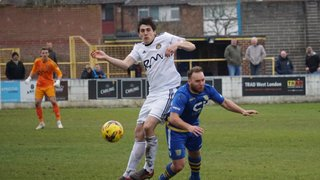 Basingstoke - Away - 6th April 2019 - 3-3 Tivvy goals by Stewart Yetton (2) & Michael Landricombe