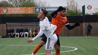 Walton Casuals FC - Away - 13th April 2019 1-2 Tivvy goals from Levi Landricombe & Joshua Key