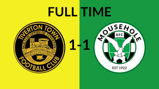 Tiverton Town 1-1 Mousehole AFC