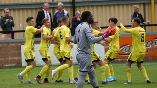 Photos by Viv Curtis - Hayes & Yeading - 10th August 2019 - 2-2. Tivvy goals by Michael Landricombe and Olaf Koszela