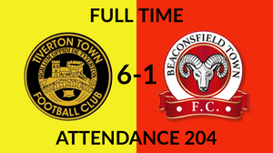 Tiverton Town 6-1 Beaconsfield Town