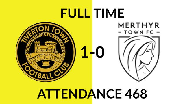 Tiverton Town 1-0 Merthyr Town