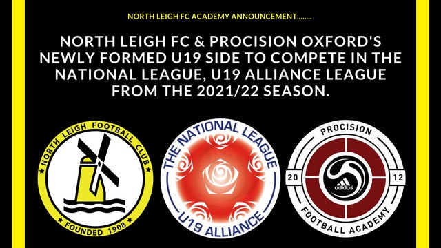 North Leigh Academy side accepted into National League, U19 Alliance League.