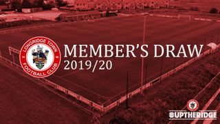 Get involved with our 2019/20 Member's Draw!