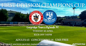 Match Preview: Longridge Town v Rylands FC