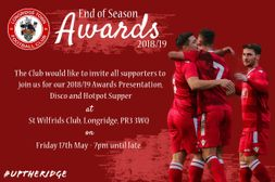 End of Season Awards 2018/19