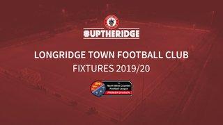 2019/20 Fixtures Announced