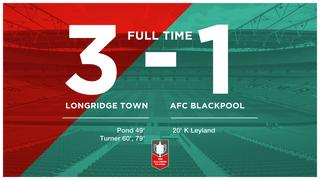 Match Report: Longridge Town 3-1 AFC Blackpool