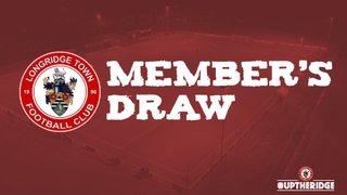 Member's Draw: September Winners