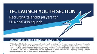 Launching TFC U16's and U19's Youth Section