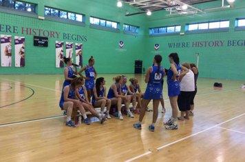 Training at Loughborough