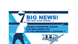 We're in the Leicester League Premiership!