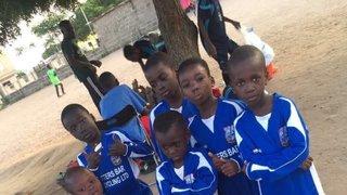 Hatfield Town send kits to Ghanaian school children